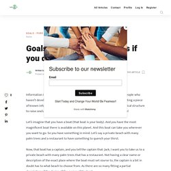 Goals Step 2: What happens if you don't set goals - The Life Explorer