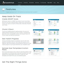 Web-based Goal Setting Software
