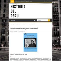 El Gobierno de Alberto Fujimori (1990-2000)