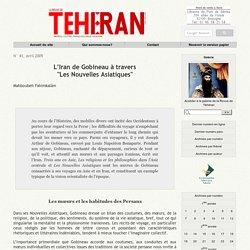 """L'Iran de Gobineau à travers """"Les Nouvelles Asiatiques"""""""
