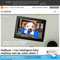 GoBone : l'os intelligent futur meilleur ami de votre chien ?