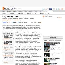 God, Guts, and Granola