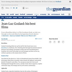 Jean-Luc Godard: his best films