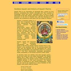 Goddess Gayatri, History of Gayatri Mantra