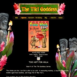 The Tiki Goddess Series by Jill Marie Landis ~ Mystery Series