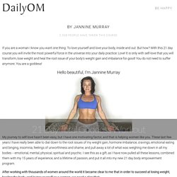 21 Day Total Goddess Workout by Jannine Murray