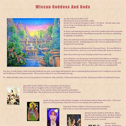 Gods & Goddesses of the Greek, Roman, Celtic, Norse, Feary Pantheon
