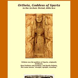 Goddesses and Rites