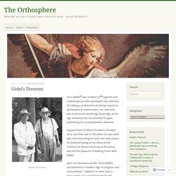 Gödel's Theorem – The Orthosphere