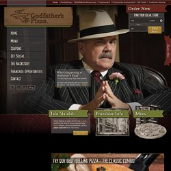 Godfather's Pizza-A Pizza You Can't Refuse