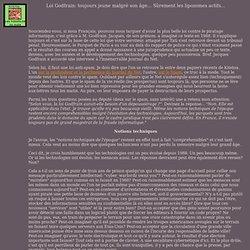 LOI GODFRAIN: TOUJOURS JEUNE MALGRE SON AGE... SUREMENT LES LIPOZOMES ACTIFS...