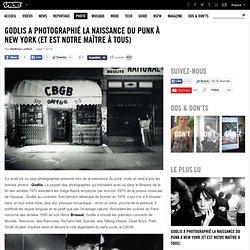 Godlis a photographié la naissance du punk à New York (et est notre maître à tous)