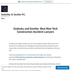 Godosky and Gentile- Best New York Construction Accident Lawyers – GodoSky & Gentile P.C.