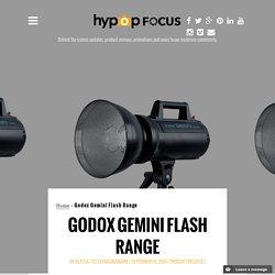 Godox Gemini Flash Range