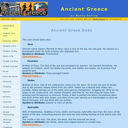 Gods - Ancient Greece for Kids