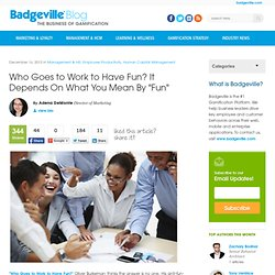 Badgeville, The #1 Gamification Platform for Customer Loyalty and Employee Productivity