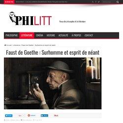 Faust de Goethe : Surhomme et esprit de néant