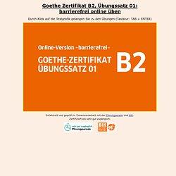 Zertifikat B2 Übungssatz 01