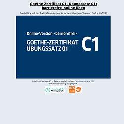 Zertifikat C1 Übungssatz 01