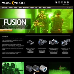 Night Vision Goggles, Night Vision Equipment, Weapon Sights - Morovision Night Vision