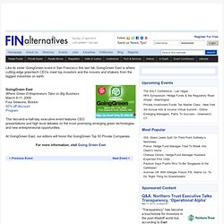 FINalternatives - (Build 2009082408