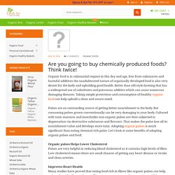 Are you going to buy chemically produced foods? Think twice!
