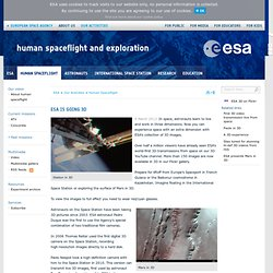 Human Spaceflight and Exploration - ESA is going 3D - printer version