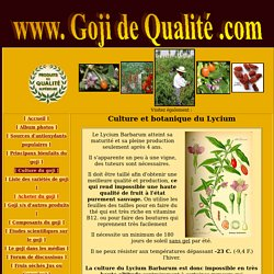 Culture & botanique