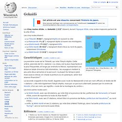 Gokaidō