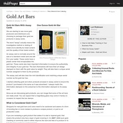Gold Art Bars