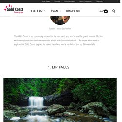 Top 10 waterfalls on the Gold Coast