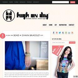 Bead & Chain Bracelet