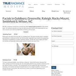 Facials in Raleigh NC