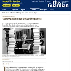 Top 10 golden age detective novels