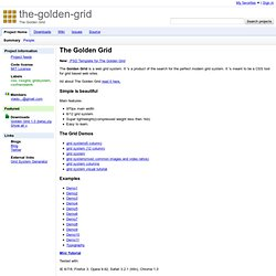 the-golden-grid - Project Hosting on Google Code