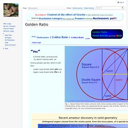 Golden Ratio - Portal