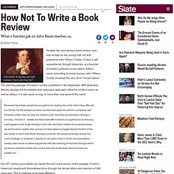 Three Golden Rules for book reviewing: What are they? - By Robert Pinsky