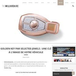 Golden Key Par Selected Jewels: Un Bijou Unique En Son Genre