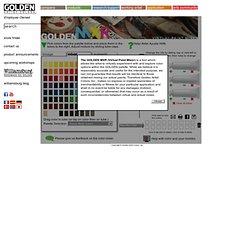 GOLDEN Virtual Paint Mixer