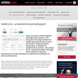 GoldenLine – przewodnik dla początkujących - WhitePress