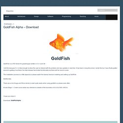 GoldFish Alpha – Download –