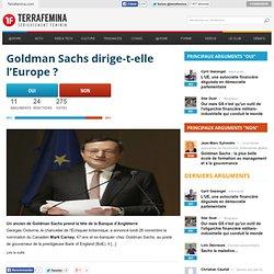Goldman Sachs n'est que le pantin d'un monstre gigantesque