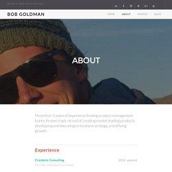 Bob Goldman - Santa Barbara, CA