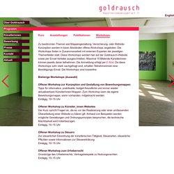 Goldrausch Künstlerinnen art IT : Workshops