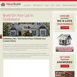 Goldsboro Home Builder