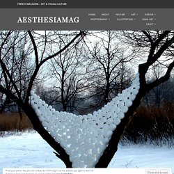 Andy Goldsworthy's Ice and Snow Ephemeral Sculptures – AesthesiaMag