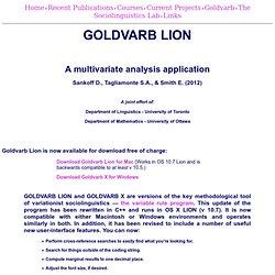 Goldvarb X