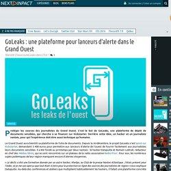 GoLeaks : une plateforme pour lanceurs d'alerte dans le Grand Ouest