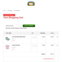 Golf Wang - Shopping Cart