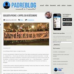 """""""Golgota Picnic"""" : l'Appel du 8 décembre"""